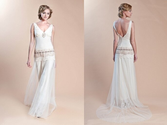 Robe de mariée Haviland de Claire Pettibone - Collection printemps 2014