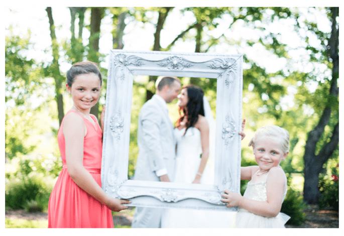 Incluye a tus damas de boda y pajes en estas fotos - Foto Natalie Franke Photography