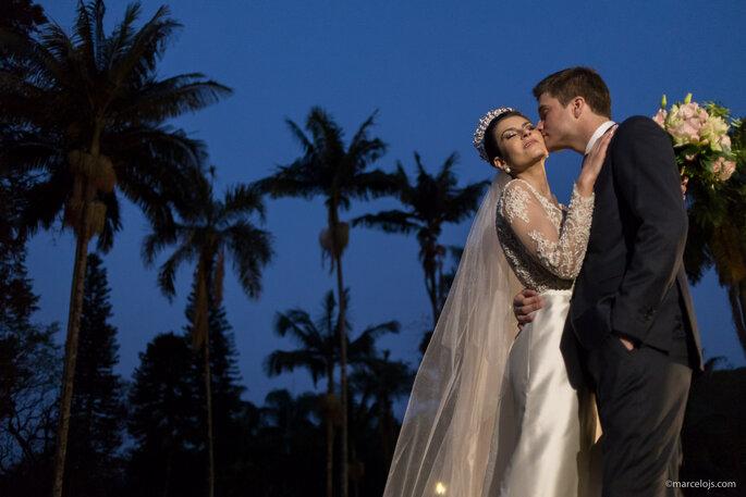 ensaio noivos dia casamento