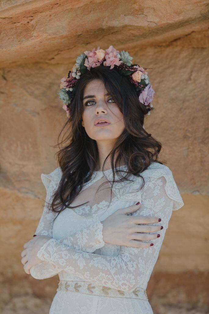 Vestido: Laura Escribano | Foto: Serafín Castillo