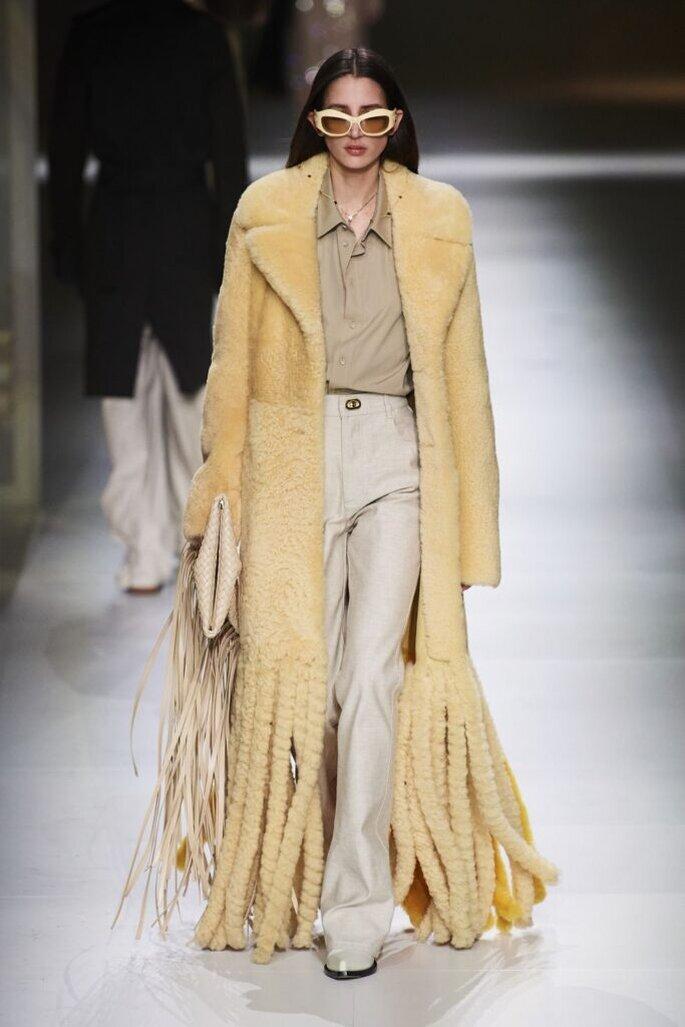 tendenze moda autunno inverno 2020/2021 frange