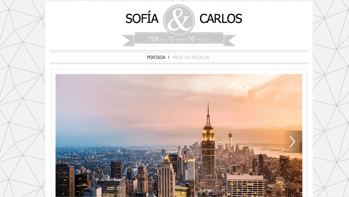 Página web de bodas Zankyou