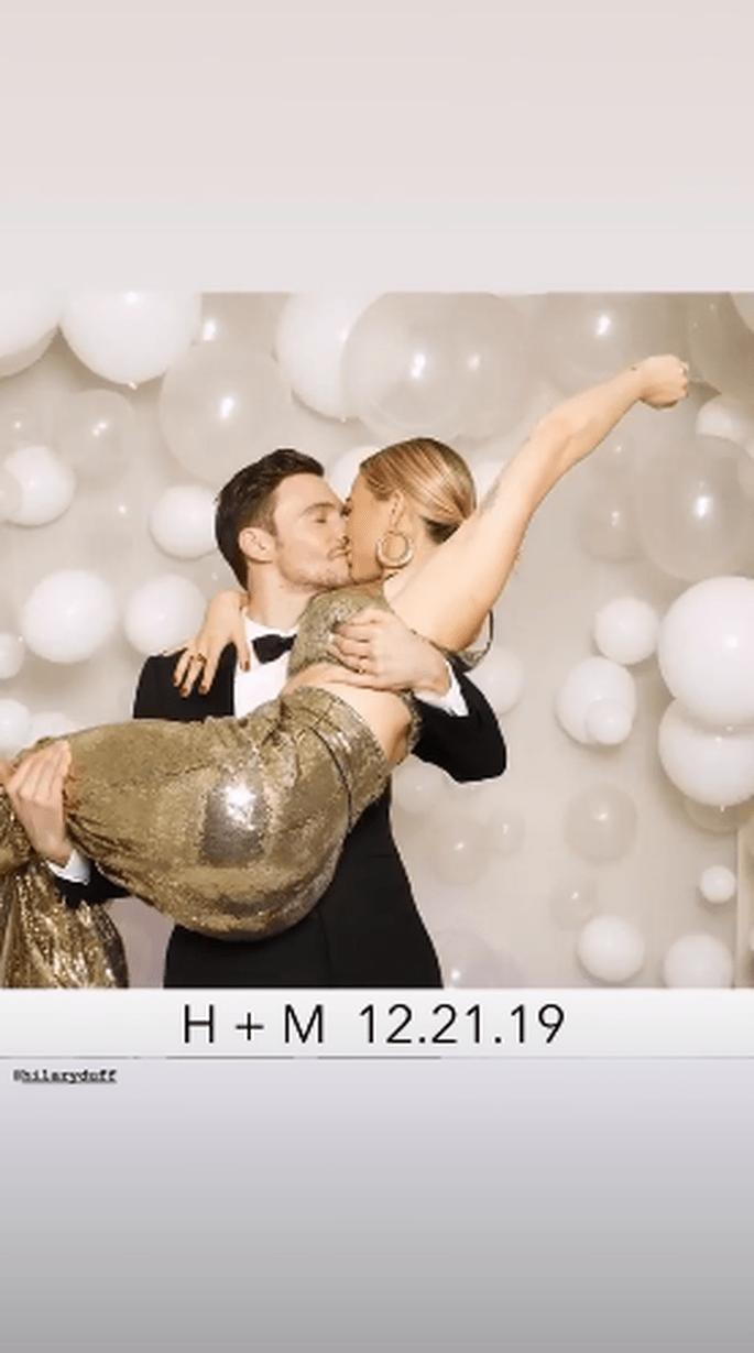 Hilary Duff is getrouwd