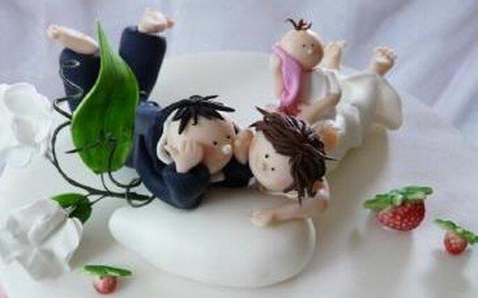 Die Hochzeitstorten von suess-und-salzig sind Unikate