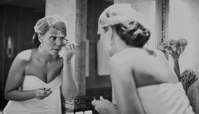 Sigue estos 15 tips para maquillarte el día de tu boda - Foto Nadia Meli