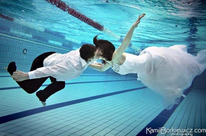 Fotografías profesionales para boda.Foto de Kamil Borkiewicz.