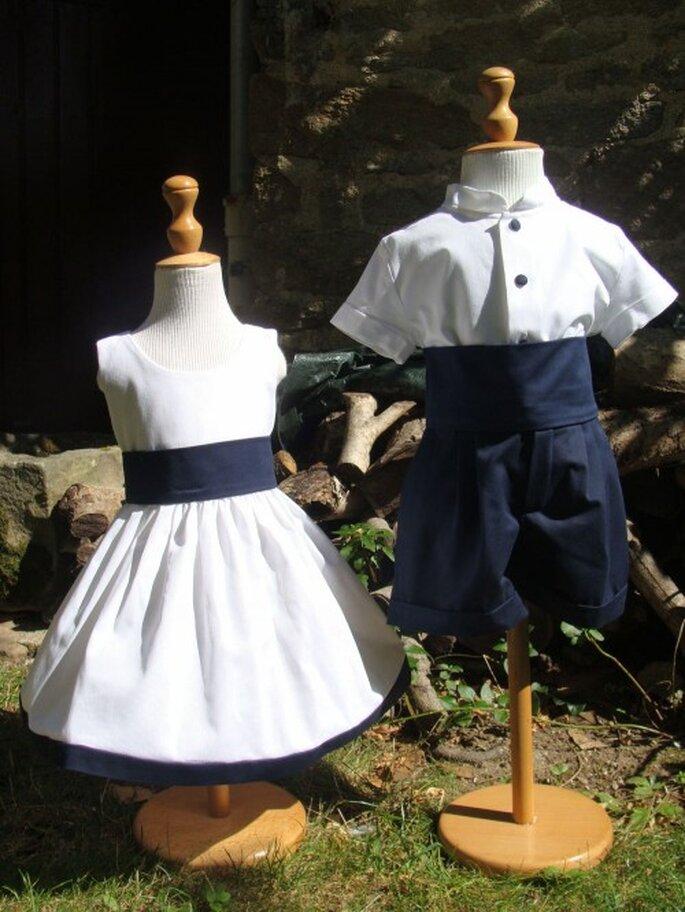 Tenues pour enfants d'honneur - Place Dauphine