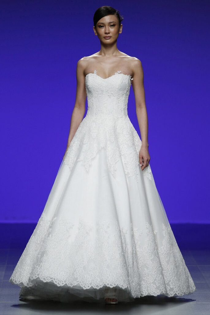 5 vestidos de novia para 5 tipos de cuerpo diferentes... ¿Cuál es tu ...