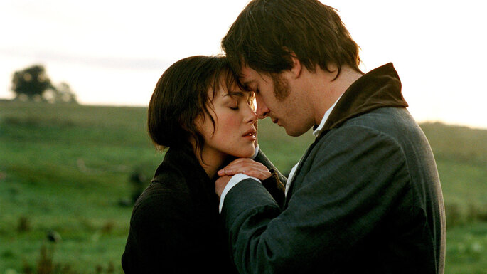 amour cinéma films romantiques Orgueil et préjugés Pride and Prejudice