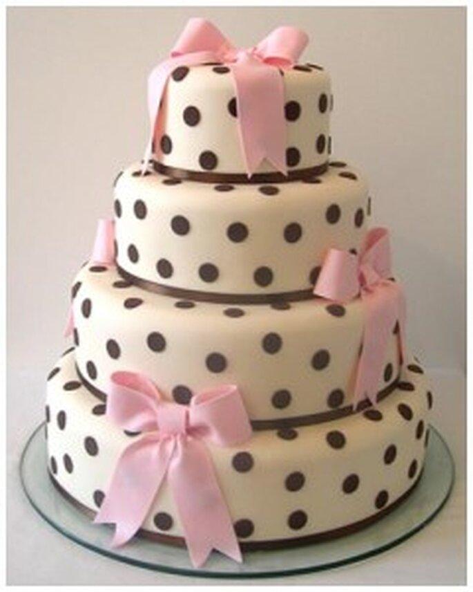 Ed ecco una torta dal gusto retrò