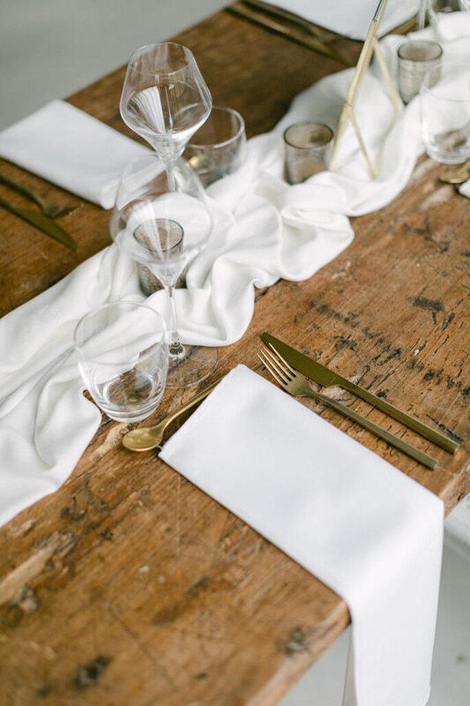 Décoration rustique de table de mariage