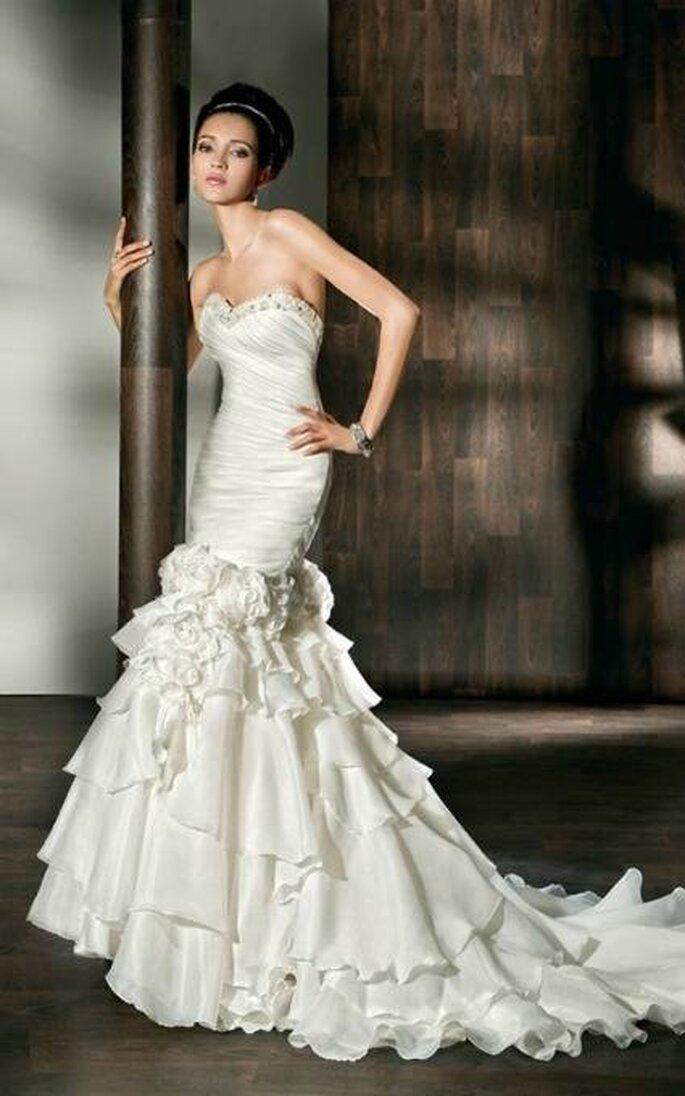 Robe de mariée Frederica - Source : Demetrios 2012