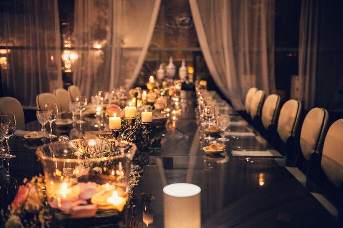 Mesa de casamento organizada por LOWE Luxury Events