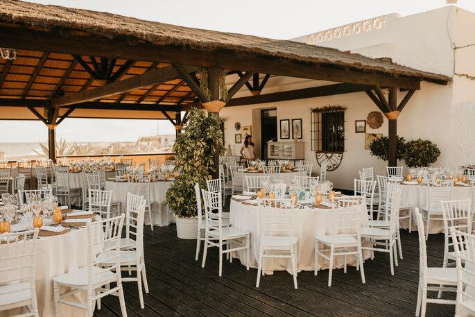 La Terraza de Mangoa restaurante bodas Málaga