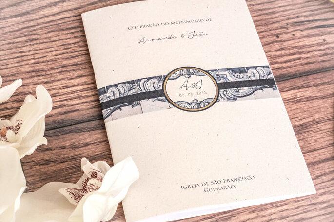 missal de casamento: beige e clássico