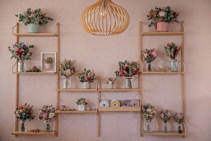 Flores en el Columpio - ramos de novia - Madrid