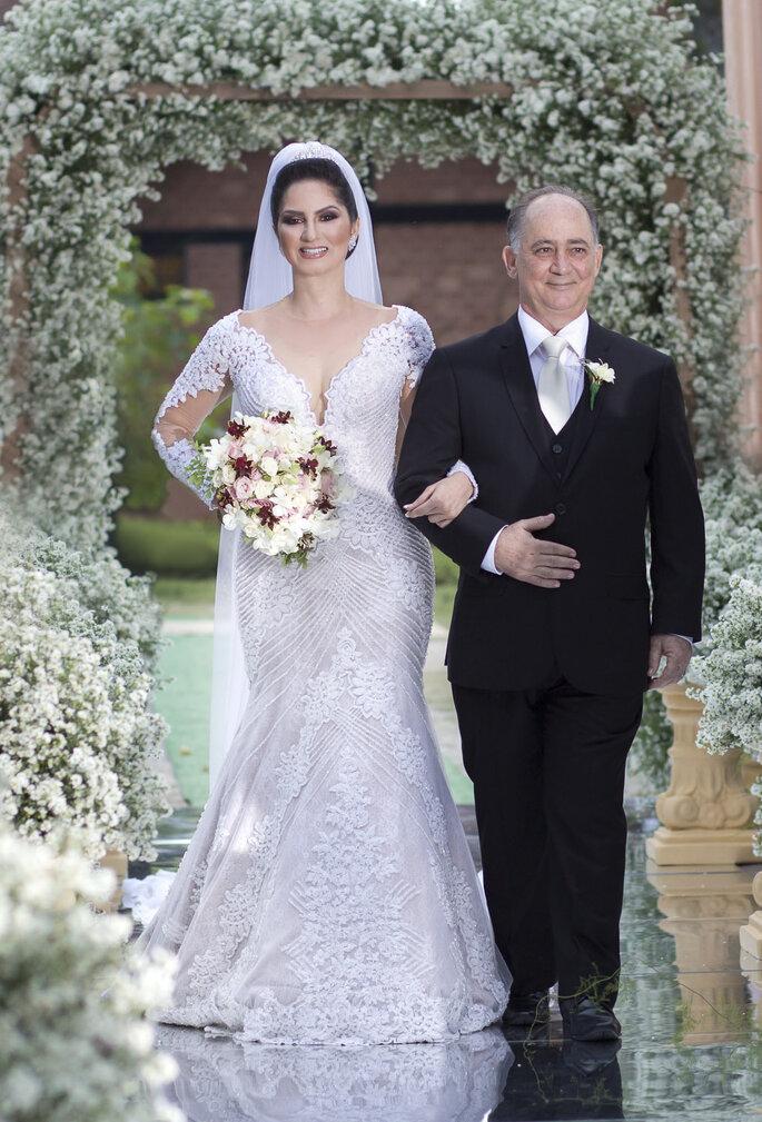 Casamento clássico contemporâneo na serra capixaba