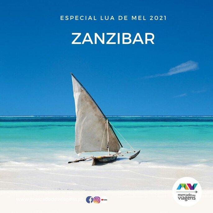 Lua-de-mel em Zanzibar