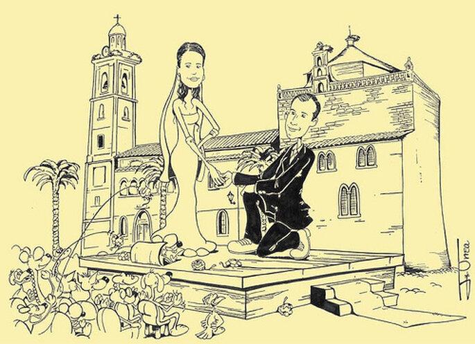 Hochzeitskarten für den Herbst