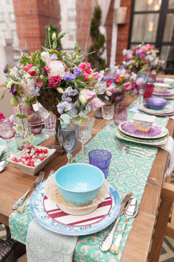 Caminos de mesa para la decoración de boda - Home Goods