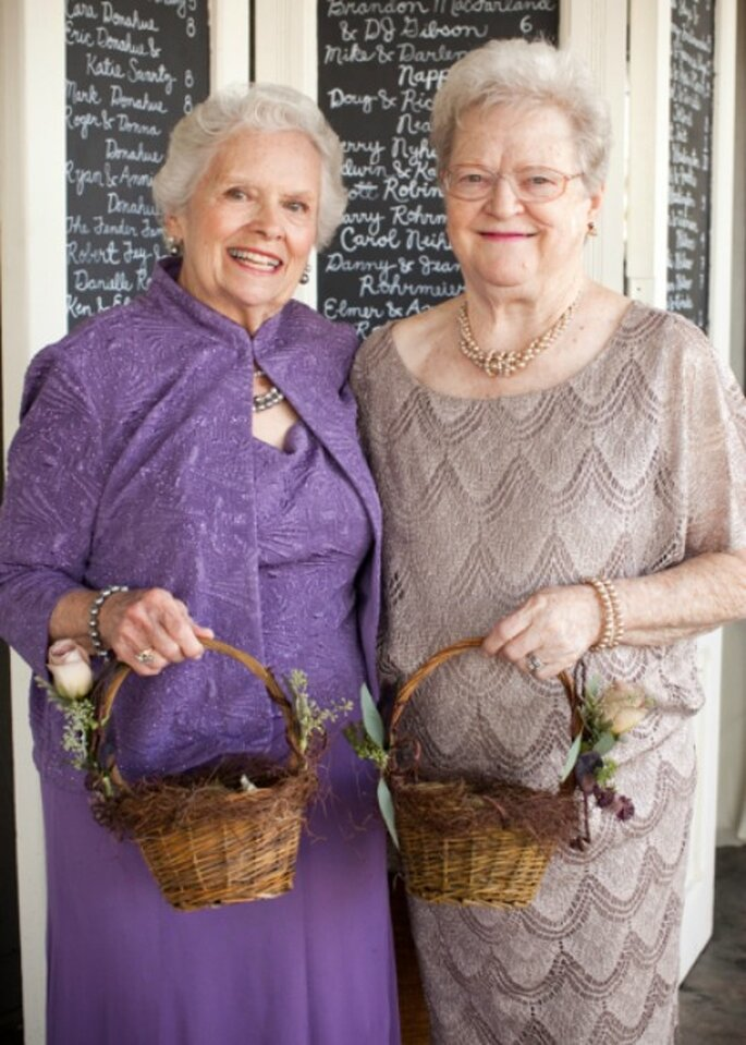 Idea \'top\': Que las damas de honor sean las abuelas de los novios