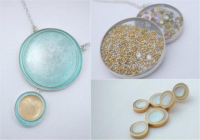 Piezas de joyería hechas a mano - Foto Amy Torello