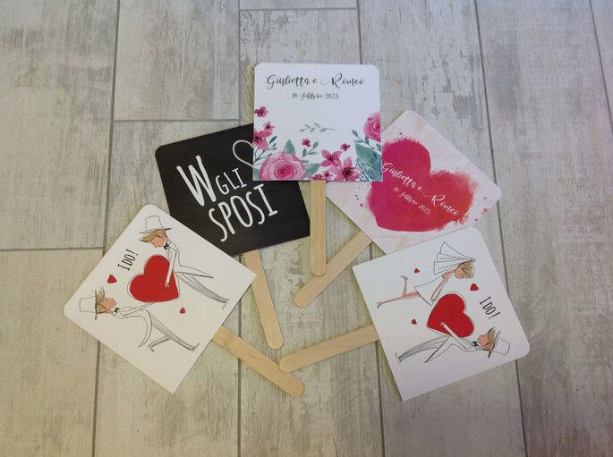 Dettagli grafici e creativi per le nozze
