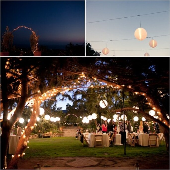 Ideas de decoración para el jardín - Foto: Cortesía So lovely moments