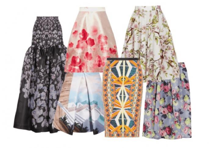 6 faldas para marcar tendencia en tu boda civil - Foto Net a Porter