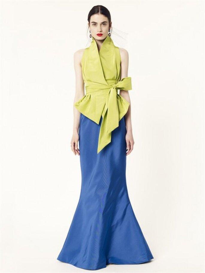 Haut Kimono et jupe longue - Oscar de la Renta