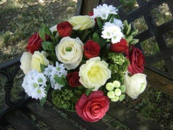 Bouquet floral - Création de Anjuya sur creavea.com