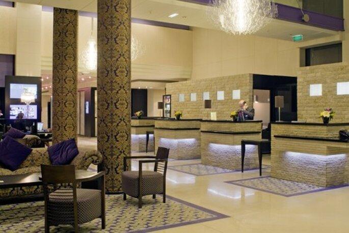 Le Mövenpick Hotel Paris Neuilly propose un service haut de gamme et un décor tendance pour votre mariage. Photo: Mövenpick Hotel