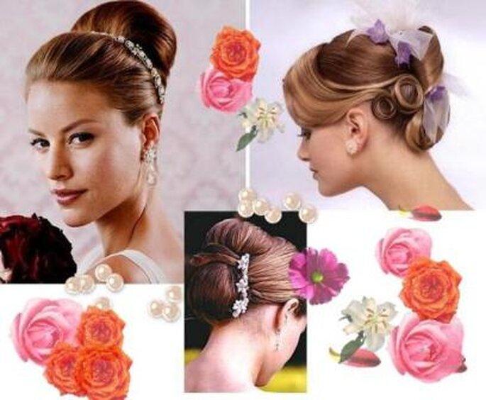 Penteados Noivas Verão - estilo Classic