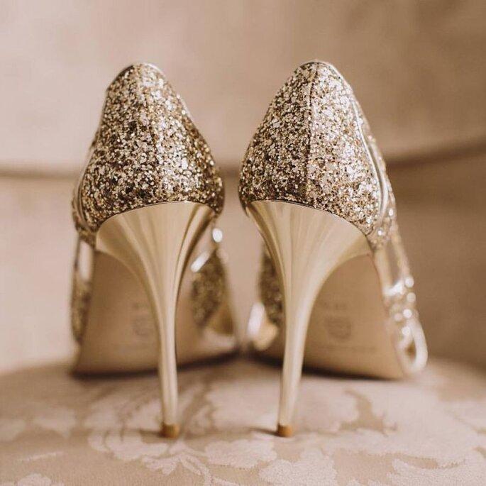 qué zapatos elegir según el vestido de novia?