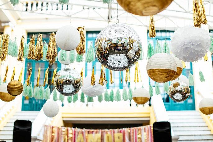Esferas em casamentos