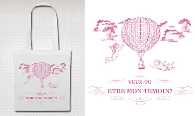 Message bags pour mariages ou EVJF par Mariages Chics