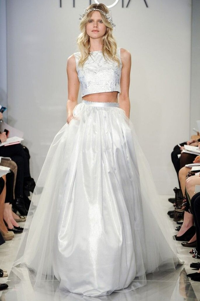 Vestidos de novia poco convencionales para las más fashionistas - Foto Theia