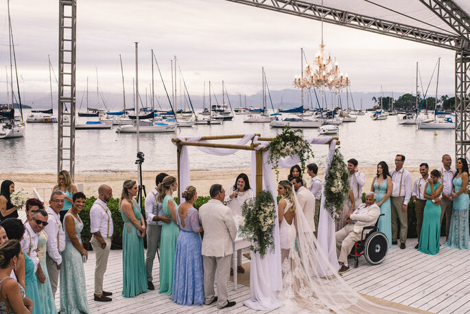 Paula Rauch Casamento na Praia