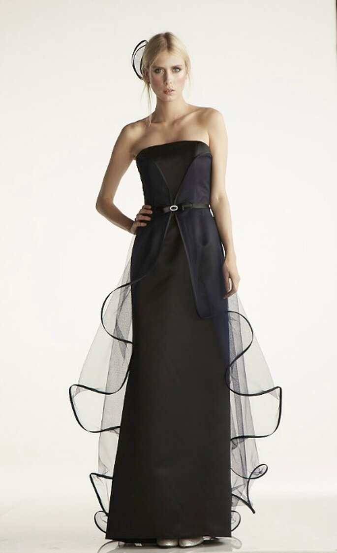 Robe de soirée Suzanne Ermann, modèle Novas - Photo : Suzanne Ermann