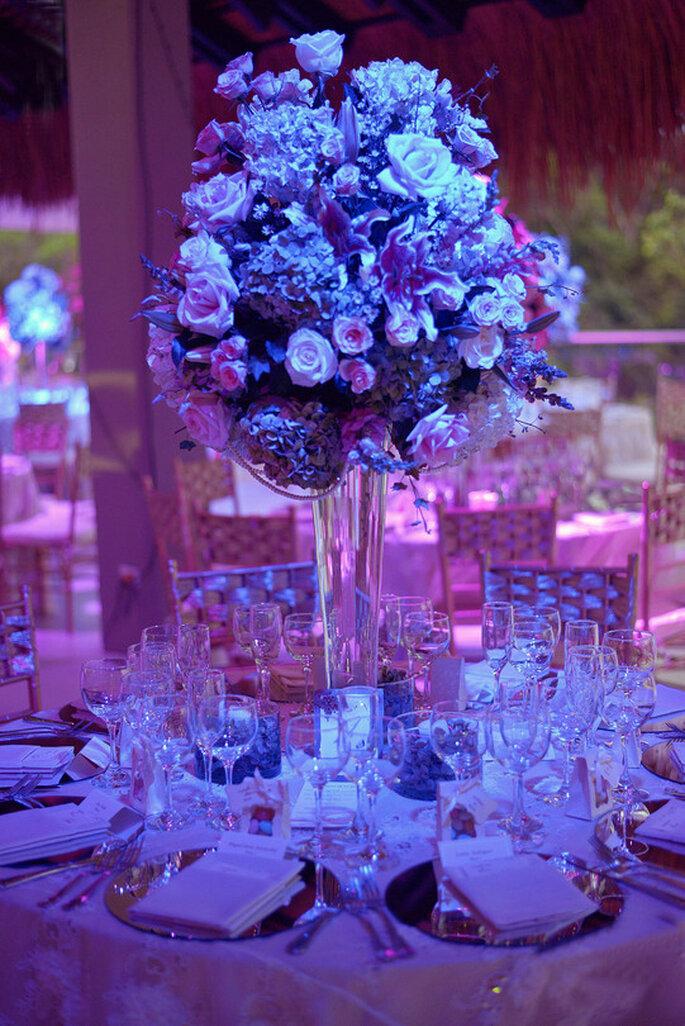 Flores jaulas y accesorios detalles para una decoraci n de boda elegante y original - Detalles de boda elegantes ...