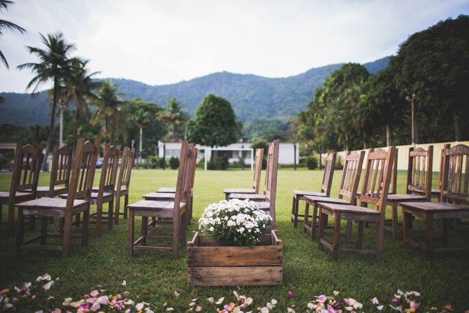 Os noivos podem adicionar serviços extras ao pacote escolhido