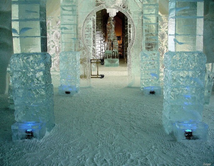 Hotel de Glace / Photo via Flickr - Huguette Trudel