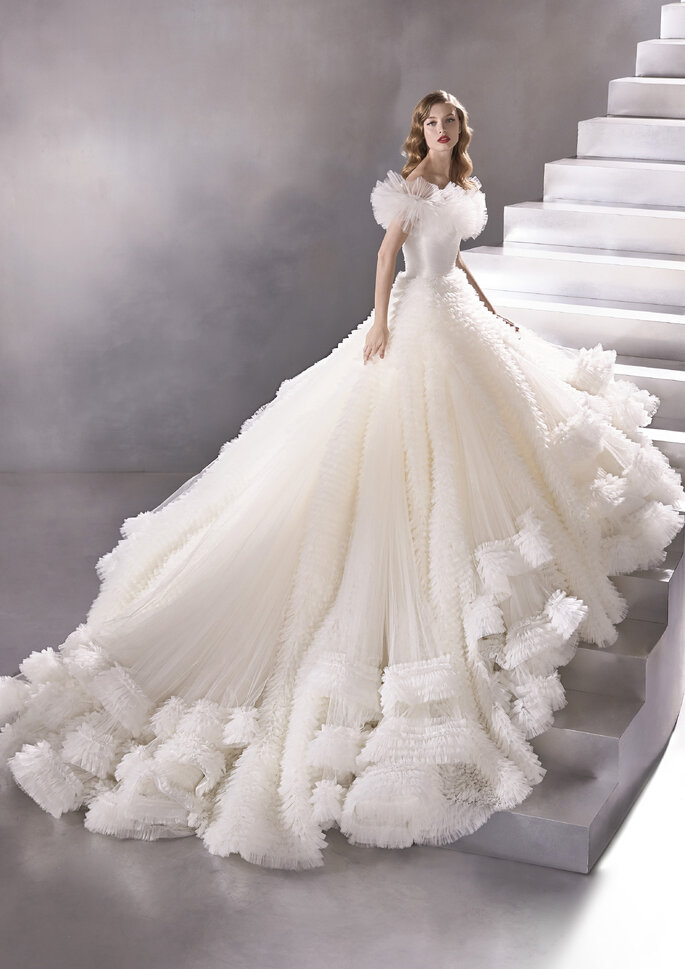 Vestido de noiva corte princesa