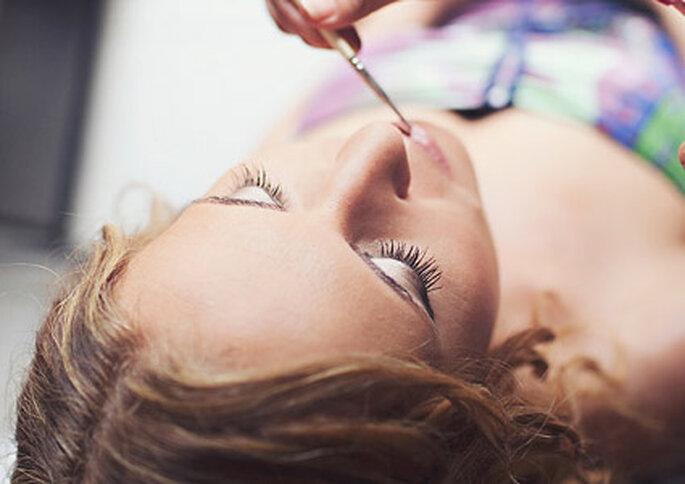 No sólo el maquillaje te hará verte bella el día de tu boda.// Foto: Attitude fotografia