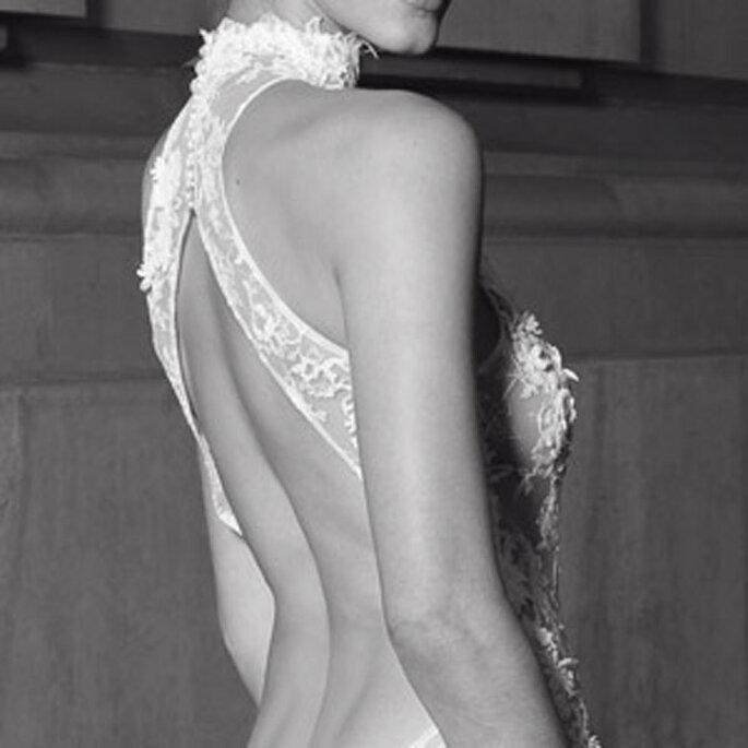 Robe de mariée Les privées Cymbeline 2011 - Egerie, en détail
