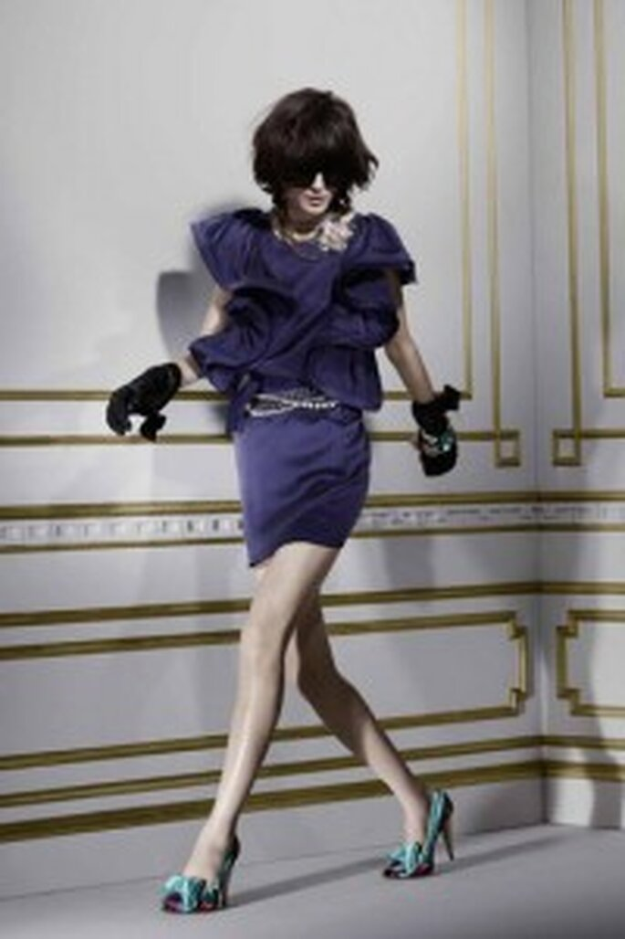 Blaues Kleid von Lanvin für H & M