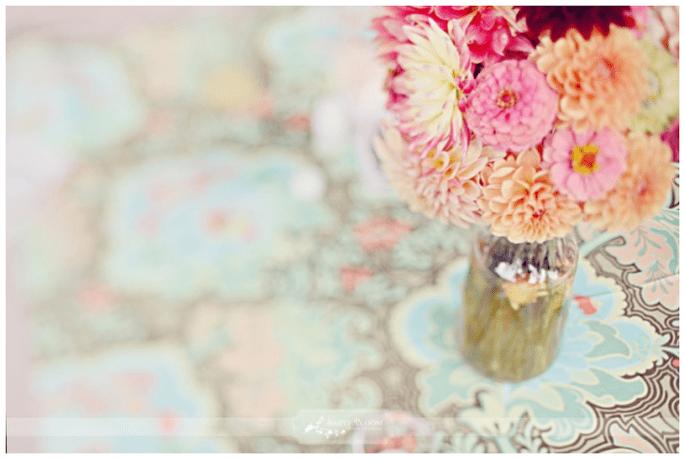 Los centros de mesa más elegantes para 2014 - Foto Simply Bloom
