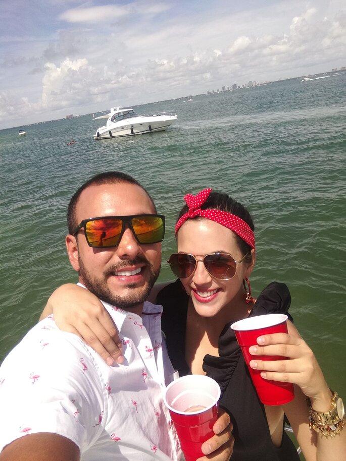 David y Daniela