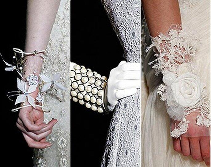 Brazaletes para novias - Foto: Hola