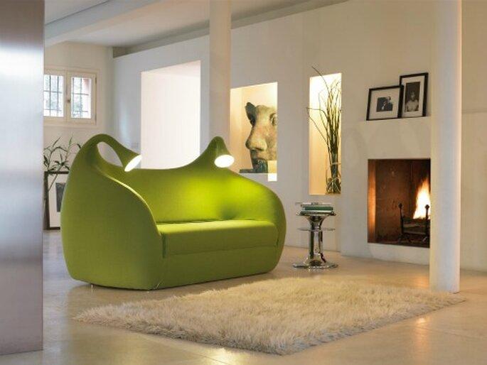 Questo divano è un pezzo d'arredo. Mod. Morfeo di Domodinamica. Foto www.governarredamenti.it